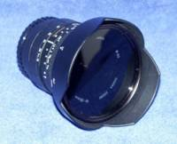 Sigma 18 - 35 Aspherical f/3.5 - 4.5, 82 mm filters